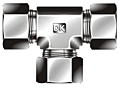 BT Series Metric Union Tee Fittings