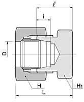 BC Series Metric Caps