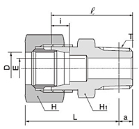 BMC-R Series Male Connector Fittings