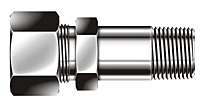 BLMC Series Metric Long Male Connector Fittings