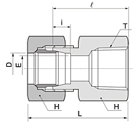 BFC Series Female Connector Fittings