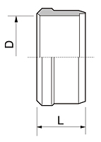 BS Series Metric Sleeve Fittings